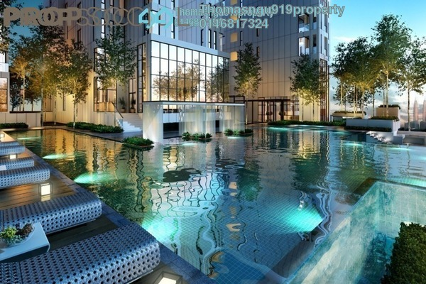 Condominium For Sale in Icon Residence (Mont Kiara), Dutamas Freehold Semi Furnished 3R/3B 1.5m