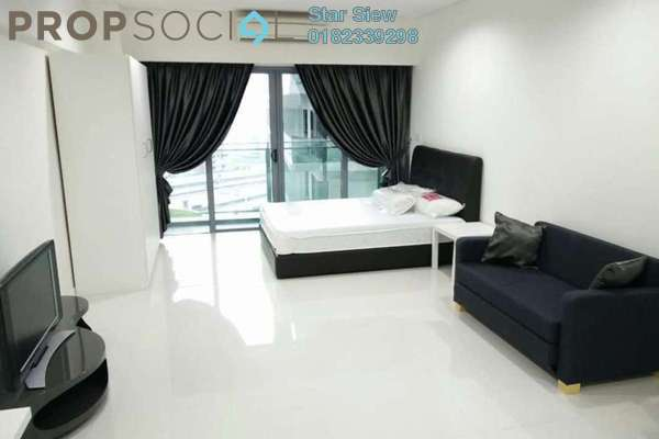 Condominium For Rent in Summer Suites, KLCC Freehold Fully Furnished 0R/1B 2.2k