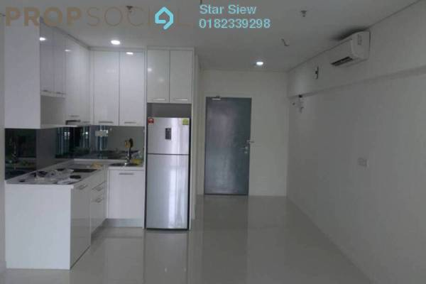 Condominium For Rent in Summer Suites, KLCC Freehold Semi Furnished 0R/1B 1.8k