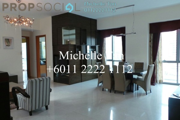 Condominium For Rent in The Meritz, KLCC Freehold Fully Furnished 3R/3B 6.8k
