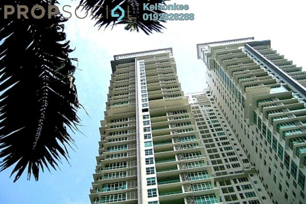 Condominium For Rent in The Pearl, KLCC Freehold Semi Furnished 4R/4B 10k