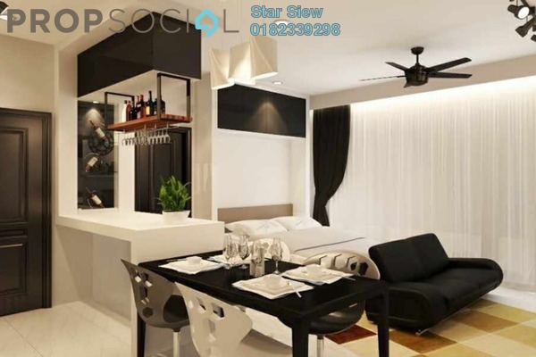 Condominium For Rent in Vortex Suites & Residences, KLCC Freehold Fully Furnished 2R/2B 3.5k