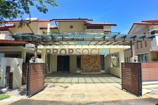 Semi-Detached For Sale in RiverView, Melawati Freehold Unfurnished 6R/6B 2.65m