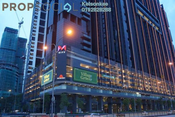 For Rent Condominium at M City, Ampang Hilir Freehold Semi Furnished 0R/2B 2.2k