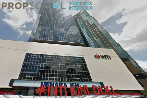 Office For Rent in Menara KH, KLCC Freehold Semi Furnished 0R/0B 1.8k