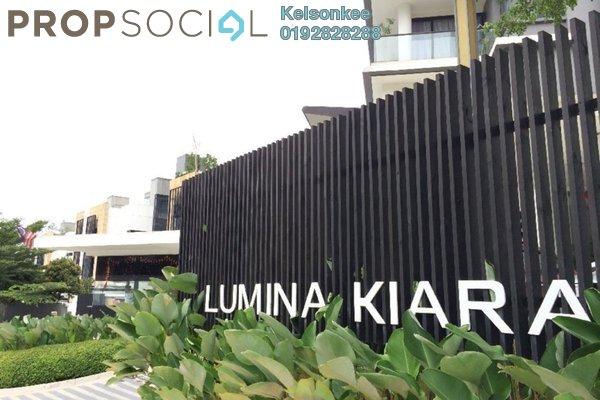 共管公寓 单位出租于 Lumina Kiara, Mont Kiara Freehold Fully Furnished 3R/3B 4.0千