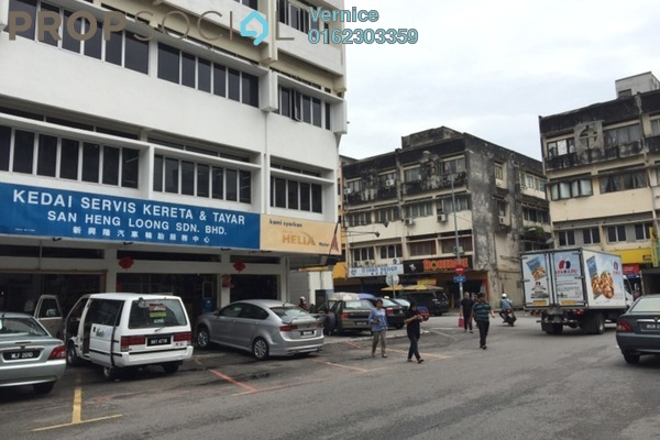 Shop For Sale in Taman Maluri, Cheras Freehold Semi Furnished 0R/0B 2m