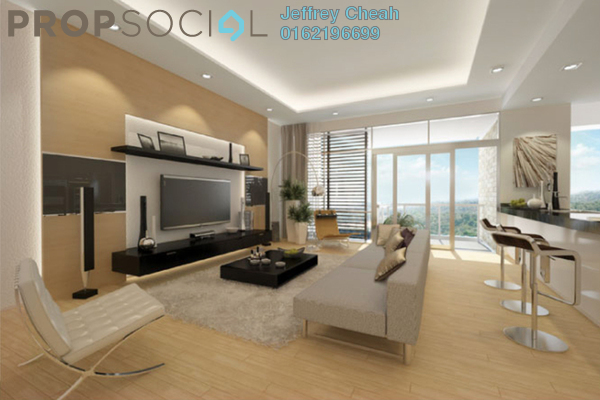 Condominium For Sale in Kenny Hills Residence, Kenny Hills Freehold Semi Furnished 4R/4B 3.9m