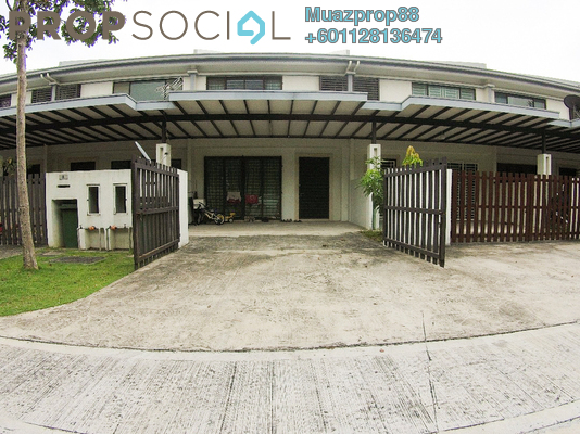 Terrace For Sale in Ken Rimba, Shah Alam Freehold Unfurnished 4R/3B 605k