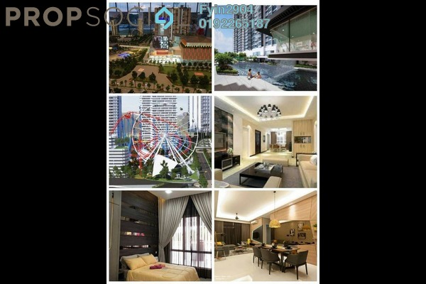 Condominium For Sale in Green Beverly Hills, Putra Nilai Freehold Semi Furnished 1R/1B 210k
