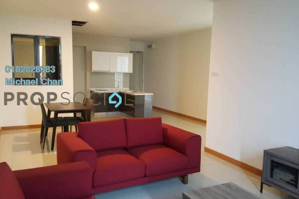Serviced Residence For Sale in KL Gateway, Bangsar South Leasehold Fully Furnished 2R/2B 900k