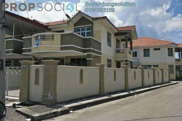 Terrace For Sale in Taman Limbungan Indah, Butterworth Freehold Semi Furnished 4R/3B 655k