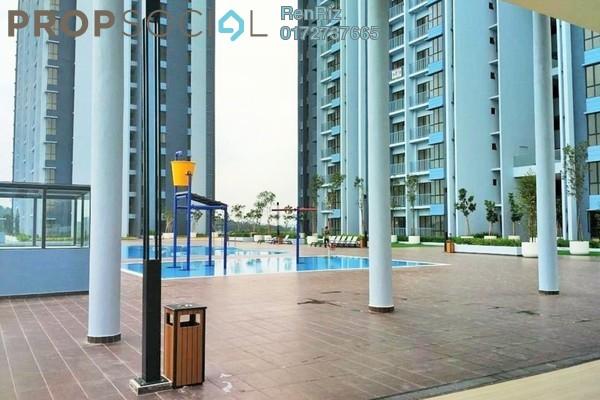 Condominium For Rent in Green Park, Seri Kembangan Freehold Semi Furnished 3R/2B 1.1k