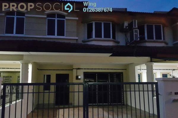 For Rent Terrace at Taman Sri Putra Mas, Sungai Buloh Freehold Semi Furnished 4R/3B 1.15k