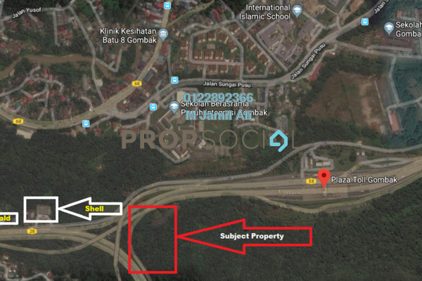 Land For Sale in Mutiara Gombak, Gombak Freehold Unfurnished 0R/0B 2.2m