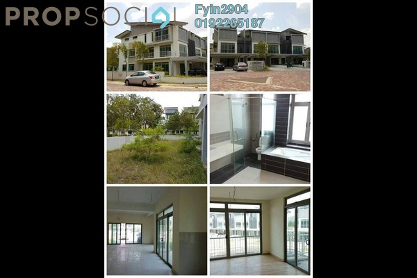 Superlink For Sale in D'Island, Puchong Freehold Semi Furnished 5R/5B 950k