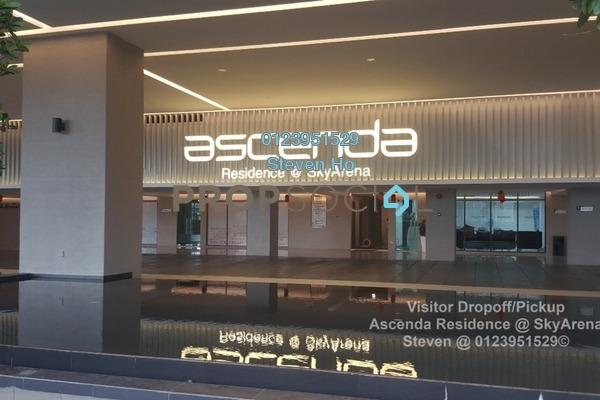 Condominium For Sale in Ascenda Residence @ SkyArena, Setapak Freehold Semi Furnished 0R/0B 640k