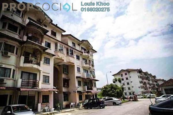 Condominium For Sale in Kenari Court, Pandan Indah Freehold Semi Furnished 3R/2B 310k