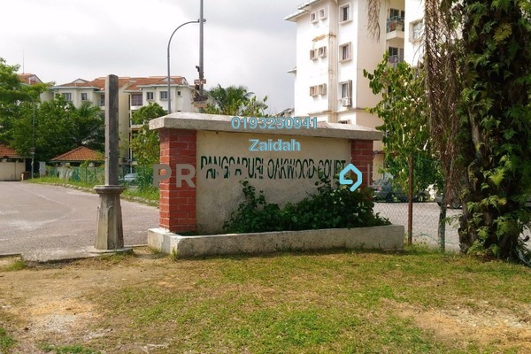 Apartment For Sale in Oakwood Court Apartment, Rawang Leasehold Unfurnished 3R/2B 100k