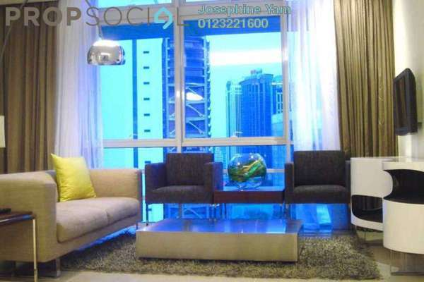 Condominium For Rent in One Residency, Bukit Ceylon Freehold Fully Furnished 1R/1B 3.2k