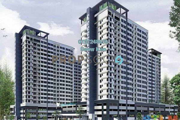 Condominium For Sale in The Greens @ Subang West, Shah Alam Freehold Semi Furnished 3R/2B 480k