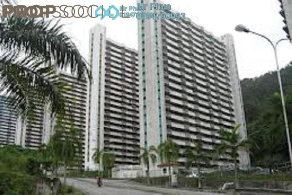 Apartment For Rent in Majestic Heights, Paya Terubong Freehold Unfurnished 3R/1B 750translationmissing:en.pricing.unit