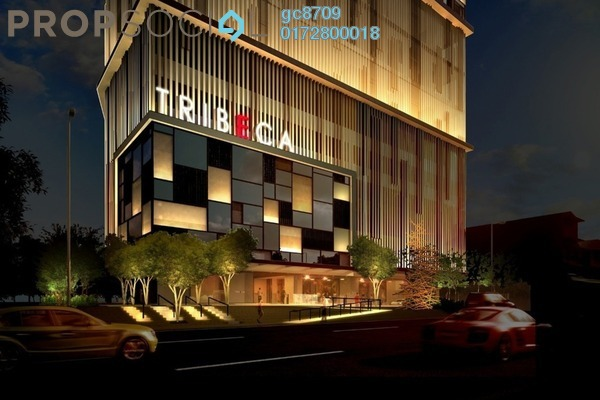 Condominium For Sale in Tribeca, Bukit Bintang Leasehold Fully Furnished 2R/2B 2.4m