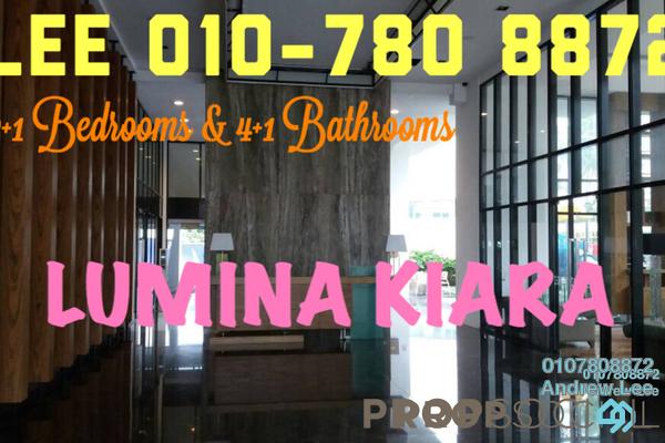 Condominium For Rent in Lumina Kiara, Mont Kiara Freehold Fully Furnished 4R/4B 5.5k