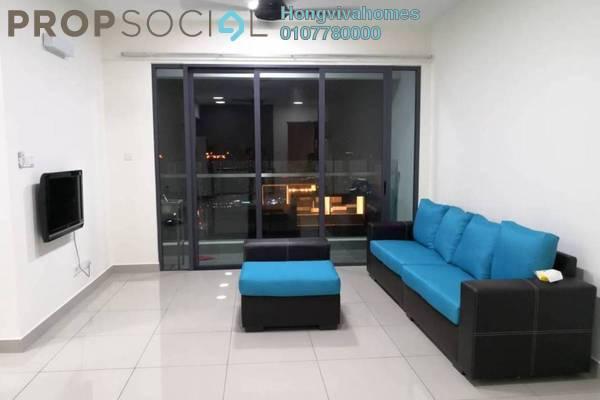 Condominium For Rent in Ascenda Residence @ SkyArena, Setapak Freehold Semi Furnished 3R/2B 2k