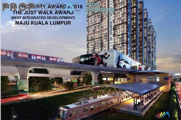 Duplex For Sale in Maju Kuala Lumpur, Sungai Besi Leasehold Semi Furnished 3R/2B 618k