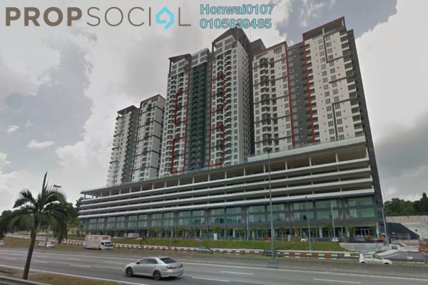 Condominium For Rent in Silk Residence, Bandar Tun Hussein Onn Freehold Semi Furnished 3R/2B 1.1k