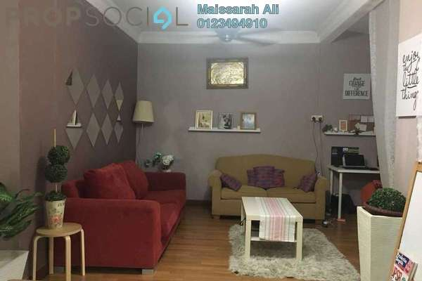 Terrace For Sale in Taman Dagang, Ampang Freehold Semi Furnished 4R/3B 610k