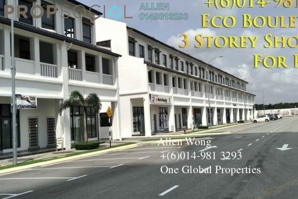 Shop For Rent in Eco Botanic, Skudai Freehold Unfurnished 0R/0B 4.8k