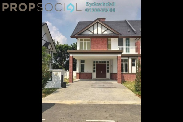 Semi-Detached For Sale in Setia Eco Park, Setia Alam Freehold Unfurnished 5R/5B 2.1m