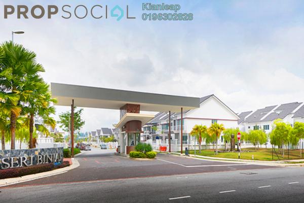 Terrace For Sale in Seri Binjai, Seremban Freehold Semi Furnished 4R/4B 870k