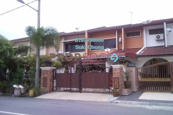 Terrace For Sale in Taman Delima, Cheras Freehold Unfurnished 2R/2B 388k