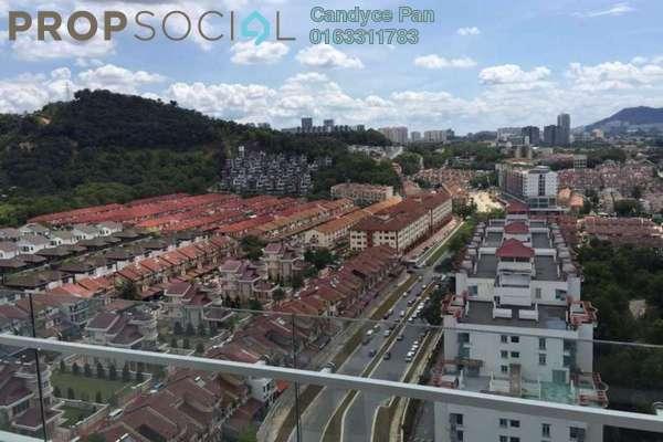 Condominium For Rent in Scenaria, Segambut Freehold Semi Furnished 3R/2B 2.1k