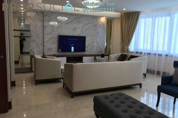 Condominium For Rent in Kirana Residence, KLCC Freehold Fully Furnished 3R/4B 14k