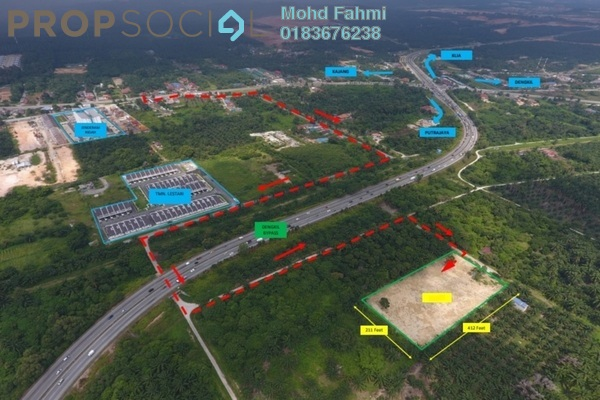 Land For Sale in Cybersouth, Dengkil Leasehold Unfurnished 0R/0B 1.8m