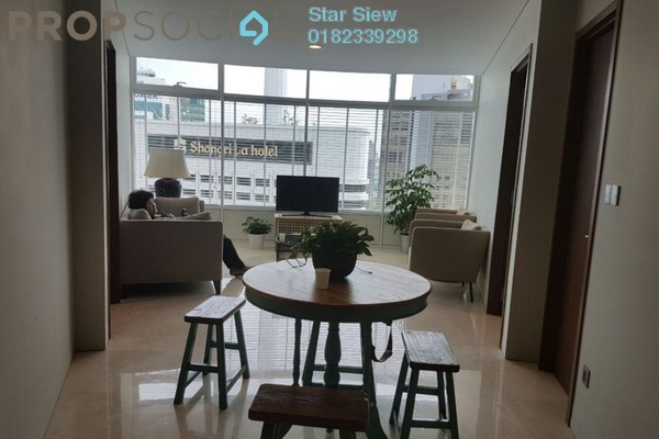 Condominium For Rent in Vortex Suites & Residences, KLCC Freehold Fully Furnished 2R/2B 4.5k
