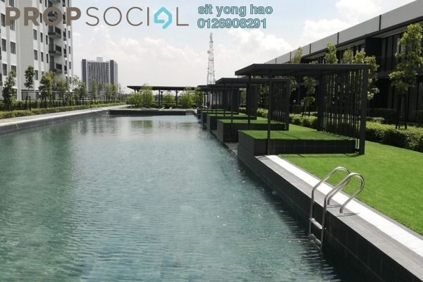 Condominium For Rent in Ken Rimba, Shah Alam Freehold Semi Furnished 3R/2B 1.4k