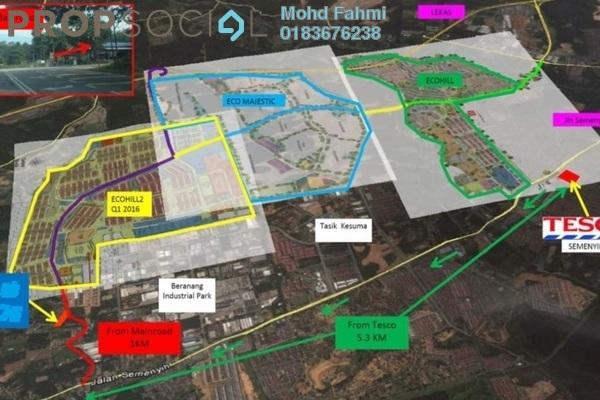 Land For Rent in Beranang Industrial Park, Semenyih Freehold Unfurnished 0R/0B 12.5k