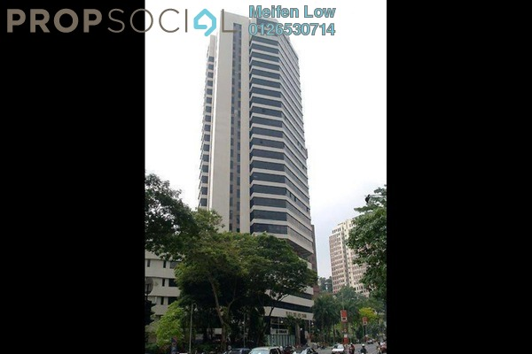 For Rent Office at Plaza See Hoy Chan, Bukit Ceylon Freehold Unfurnished 0R/0B 45k