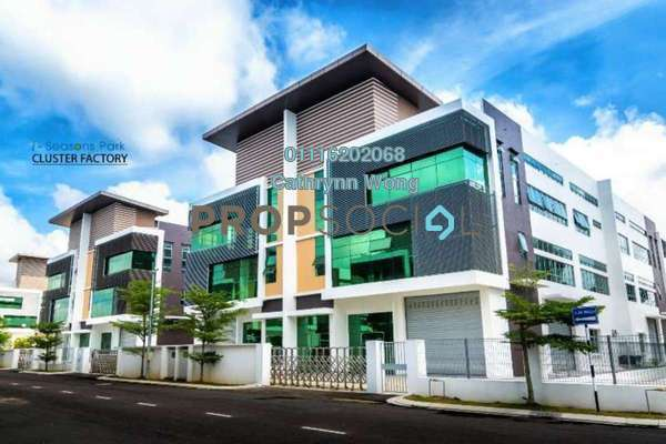 Factory For Rent in i-Seasons Park, Ulu Tiram Freehold Unfurnished 0R/0B 8.22k