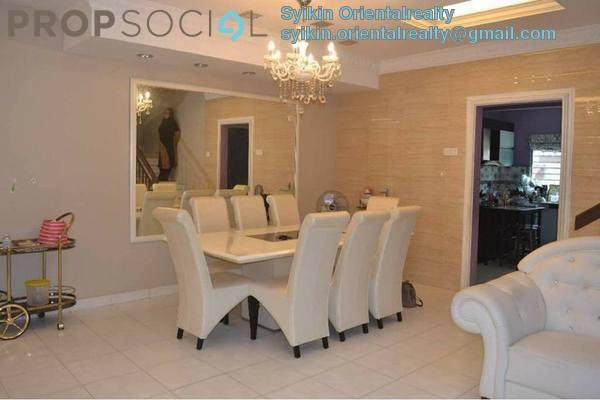 Terrace For Sale in Taman Suria Tropika, Bandar Putra Permai Freehold Semi Furnished 4R/3B 630k