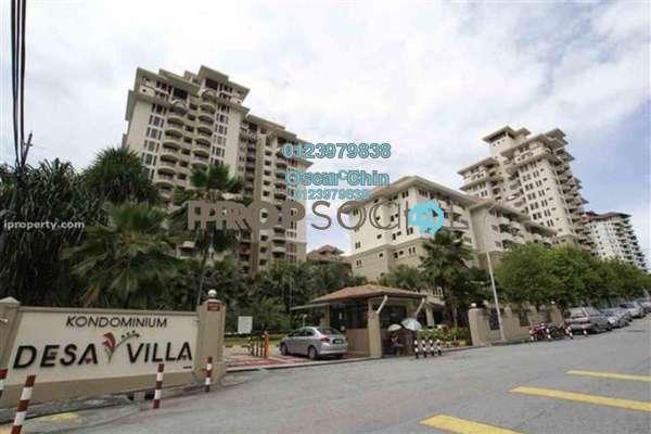 Condominium For Sale in Desa Villa, Taman Desa Freehold Fully Furnished 3R/2B 650k