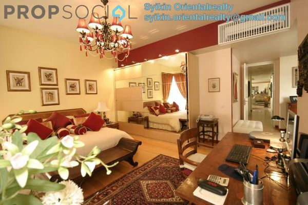 Condominium For Sale in 2 Hampshire, KLCC Freehold Fully Furnished 4R/5B 2.55m