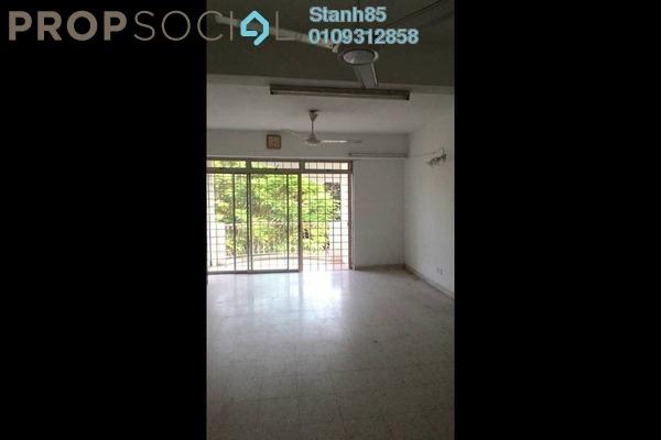Condominium For Rent in Intan Apartment, Setiawangsa Freehold Semi Furnished 3R/2B 1.5k