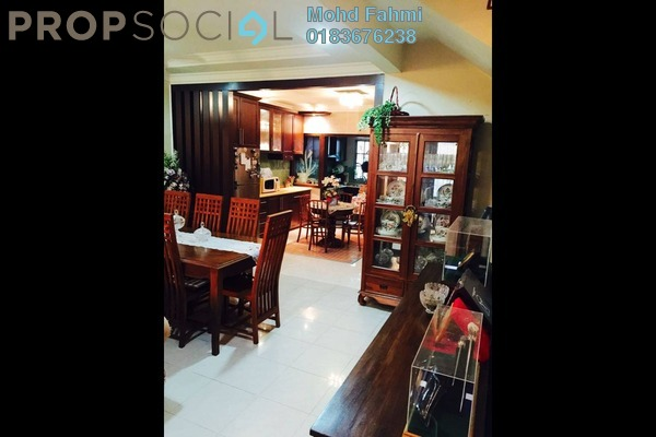 Terrace For Sale in Laman Oakleaf, Bukit Antarabangsa Freehold Semi Furnished 5R/4B 850k