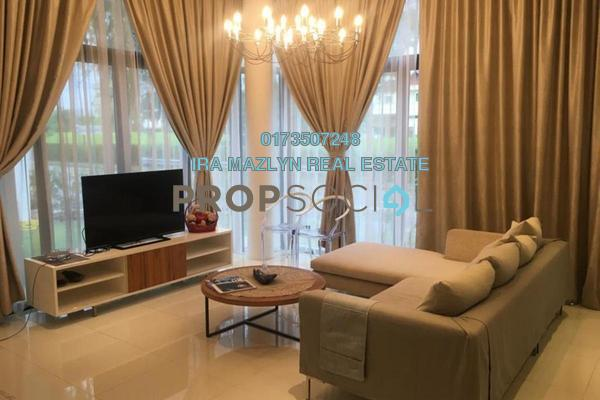 For Sale Terrace at Blu Constellation, Seri Kembangan Freehold Fully Furnished 5R/5B 1.85m